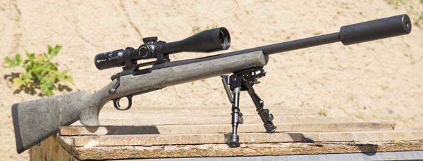 В исходном виде Remington 700 SPS Tactical не демонстрирует желаемой кучности. Именно поэтому мы решили заменить ложу