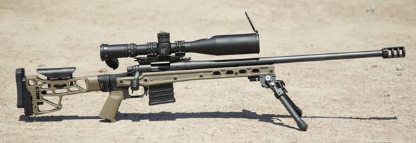 Remington 700 SPS Varmint автора, доведенный до матчевого состояния