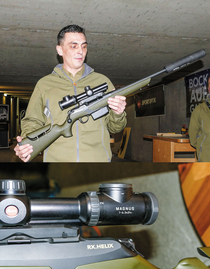 Отличный комплекс для загонной охоты: Merkel RX.Helix Explorer и Leica Magnus 1-6,3x24i