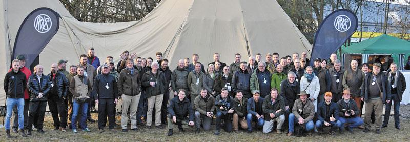 Традиционная групповая фотография участников 5th International RWS Shooting Day