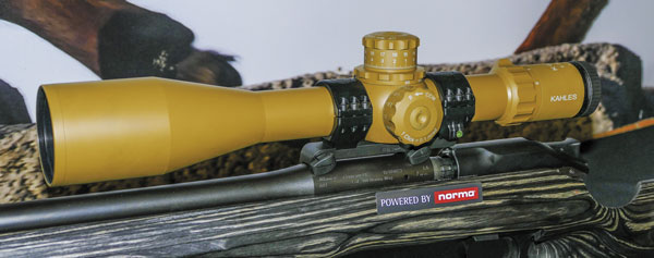 Новинка тактического дивизиона— прицел Kahles K624i 6-24x56 (на винтовке Blaser R8 GRS калибра .300 Norma Magnum)