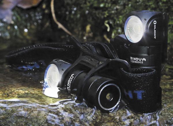 Стандарт IPх8 защитит фонарь при погружении в воду на глубину до 2 м