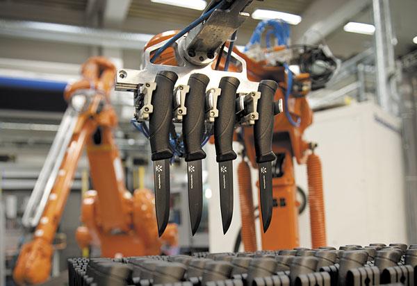 Сегодня ножи Mora производятся с применением современных материалов и технологий