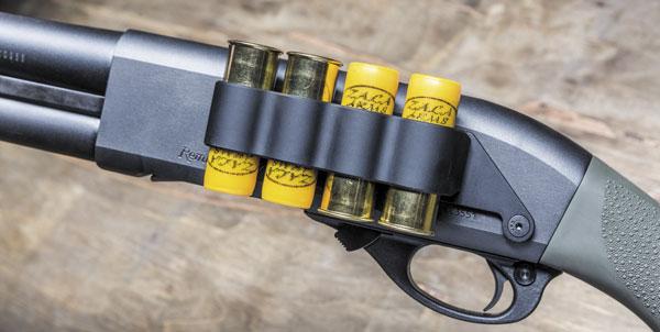 Боковой патронташ (сайд-сэдл) на четыре патрона от Mesa Tactical