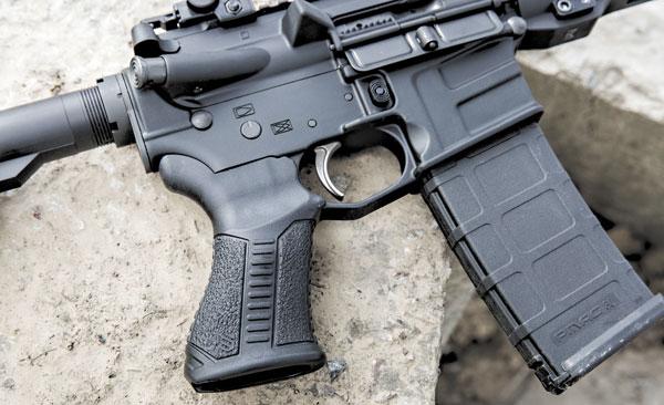 Рукоятка Knoxx AR Pistol Grip— не пугайтесь внешности, на ощупь она великолепна