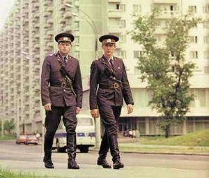 Советская милиция на страже завоеваний Великого Октября (1970-е)