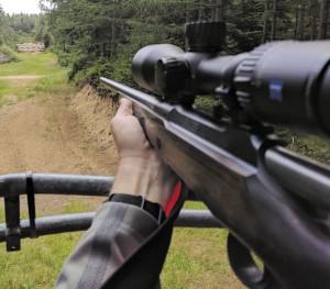 Стрельба с вышки, сидя, с рук. Не так это и просто, как кажется!