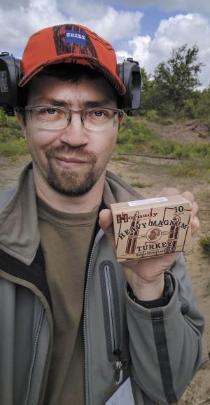 Спортинг, в понимании Sauer и Hornady, нужно стрелять патронами Heavy Magnum с навеской 42 грамма!