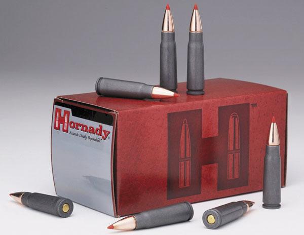 Для владельцев конверсионного оружия производства СССР Hornady выпускает патроны с пулей SST ив калибре 7,62х39