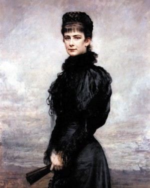 Императрица Елизавета (ху- дожник Л. Горовиц, 1899 г.)