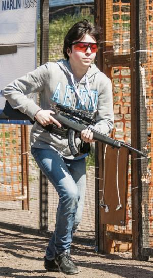 Призер-юниор Маша Скуленкова с карабином — на «ты»