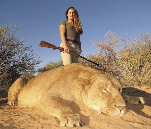 ...а в случае охоты на дичь, способную дать сдачи, она просто необходима
