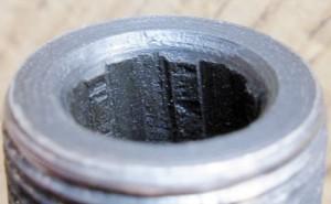 «Качество» обработки канала ствола у ПП № 251916, изъятого в г. Стаханов