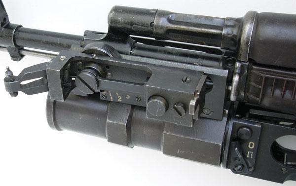 Прицел ранней модификации приднестровского ГП-25