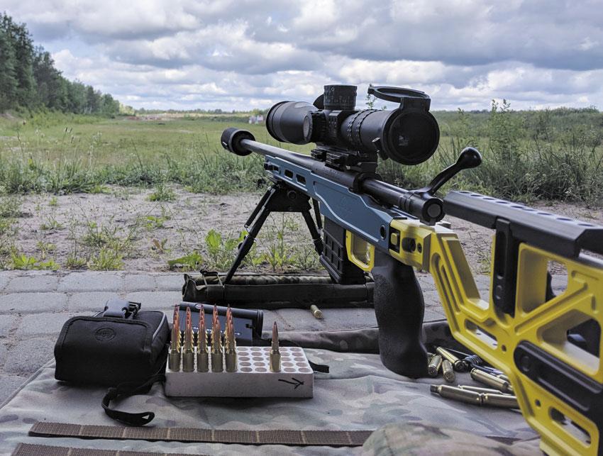Полевые испытания— самый важный этап при создании такого ответственного продукта, как шасси для высокоточной стрельбы