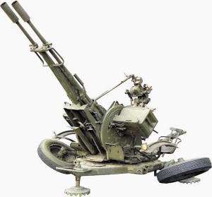 23-мм зенитная установка ЗУ-23-2 обр. 1960 г.