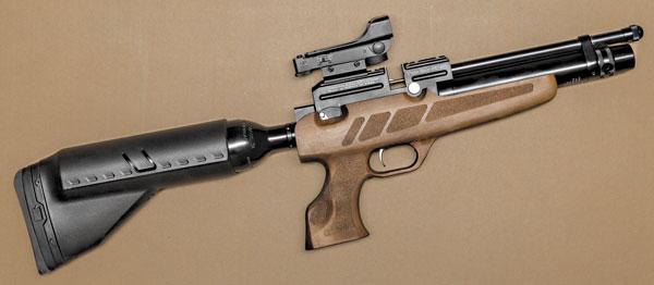 Футуристический карабин Kral Puncher NP-02