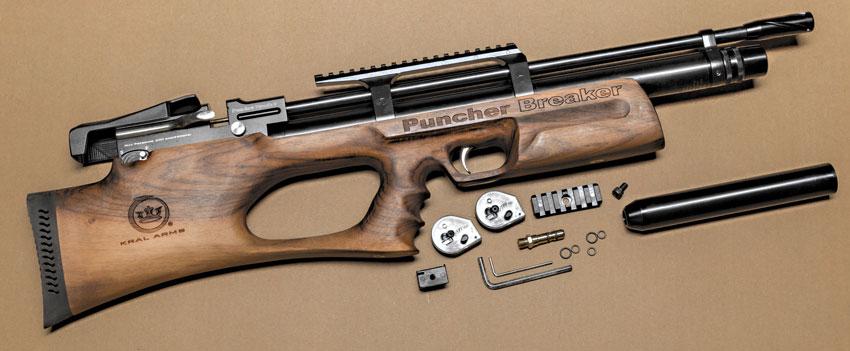 Шикарный «булл-пап» Puncher Breaker в полной комплектации