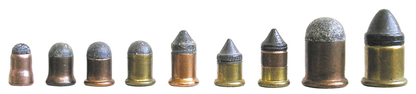 Патроны системы Флобера: 4 mm Flobert, .22 BB Cap, .22 CB Cap, 6 mm Flobert, 9 mm Flobert