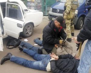 СБУ, задержание, Одесса, 19 марта 2017 г.