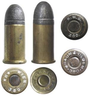 Патроны .380 Short Revolver