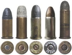 Патроны .38 Smith & Wesson различных модификаций