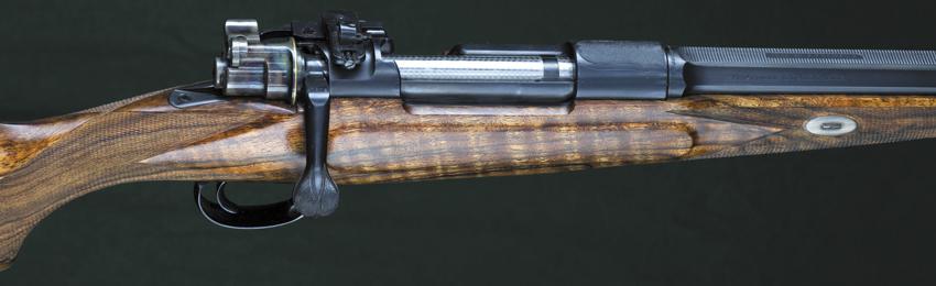 Охотничий карабин склассическим затворным механизмом Mauser 98