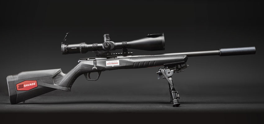 Savage B22 FVSR: «тактическая мелкашка» нового поколения!