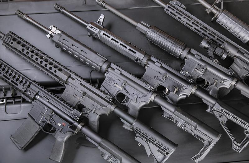 Члены «семейства» AR-15 иногда очень существенно отличаются друг от друга