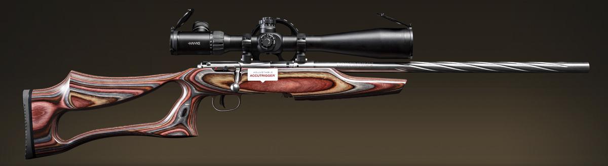 Savage Mark II BSEV: спортивное малокалиберное оружие прежде всего должно быть удобным и красивым!